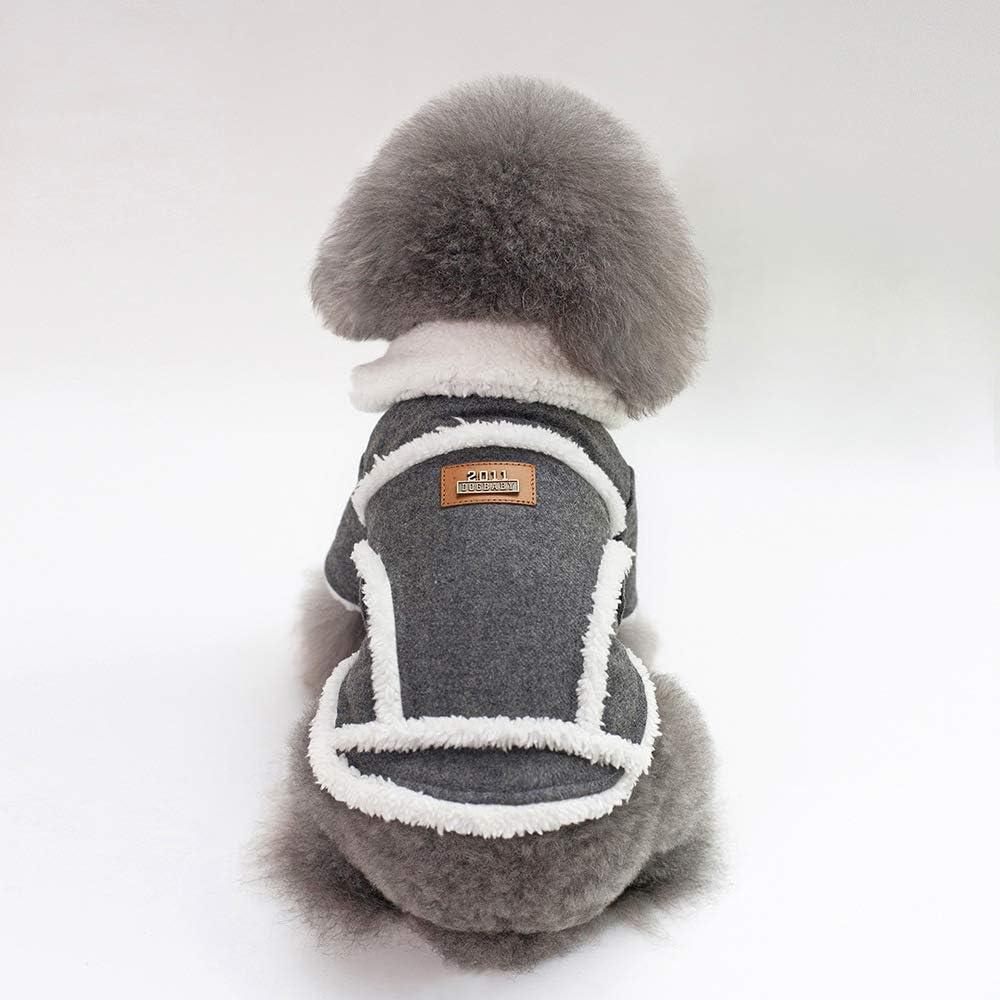 Tineer Mascota Perro Otoño Invierno Ropa Fresca Ropa de Abrigo