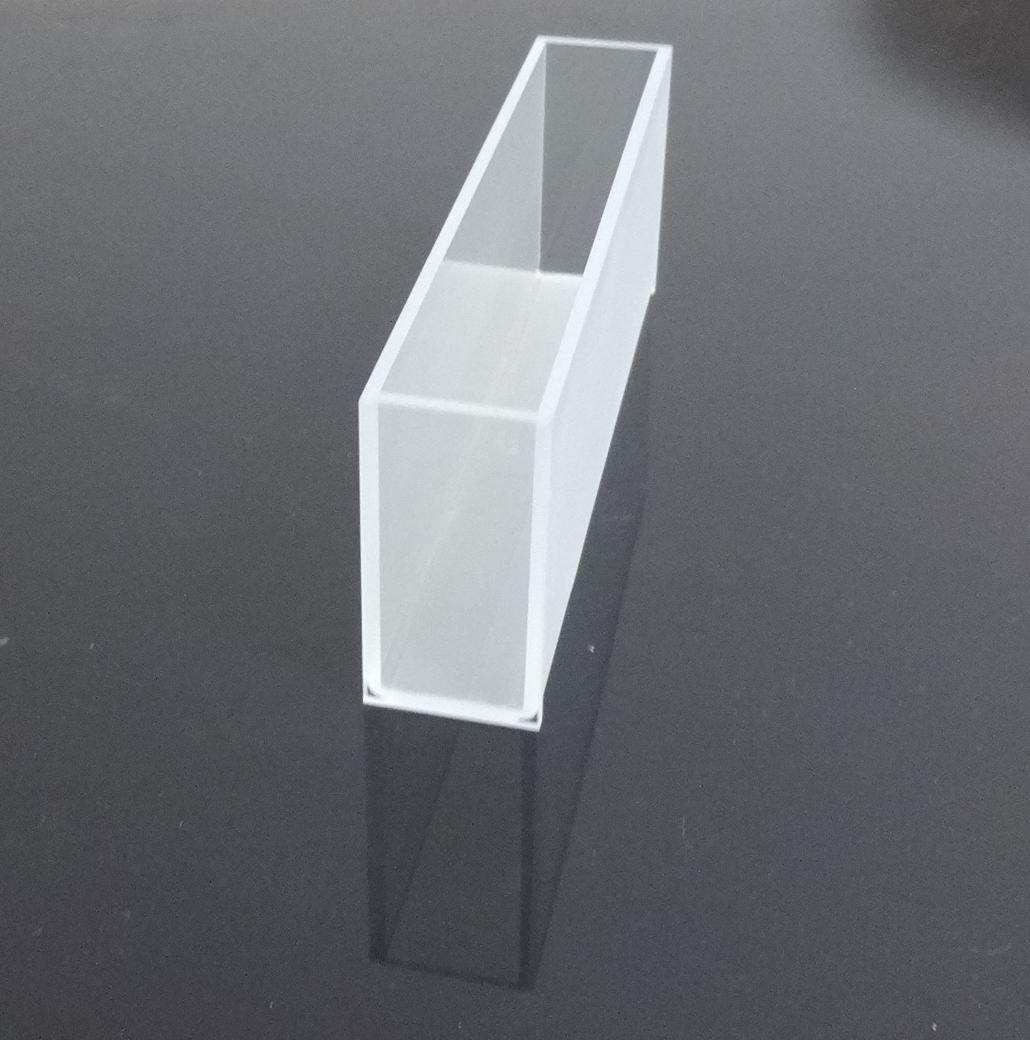 Glass Cuvette,large Cuvette, Light Path 100mm,volume 56ml, Cell, Large Cell