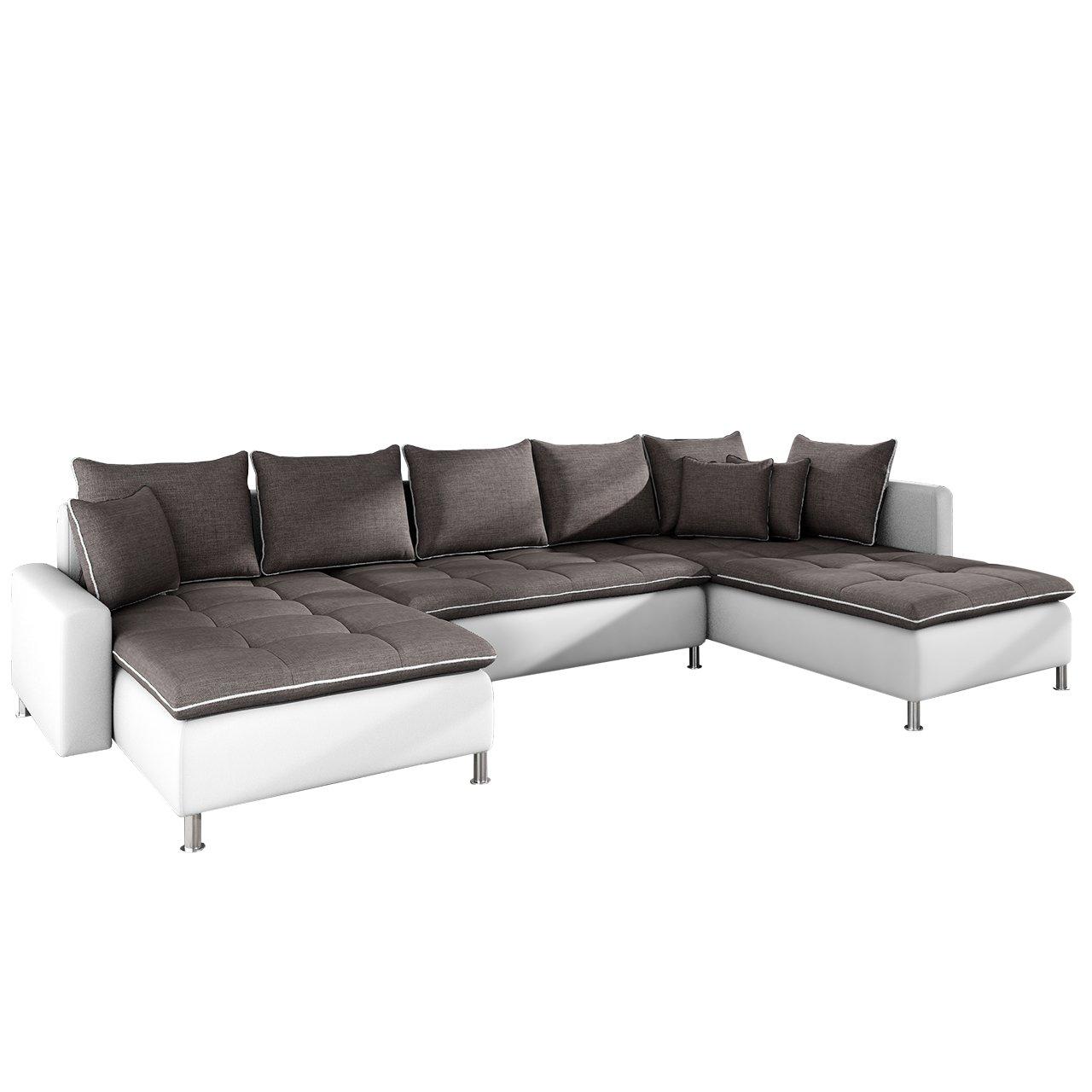 Moderne Ecksofa Cado Smart Design U Form Couch Polsterecke