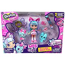 Shopkins ID56716 Shoppies Wild Style Doll - Bella Bow