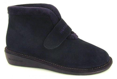 Nordikas, 280/8, Bota de paño Marino de Mujer: Amazon.es: Zapatos y complementos