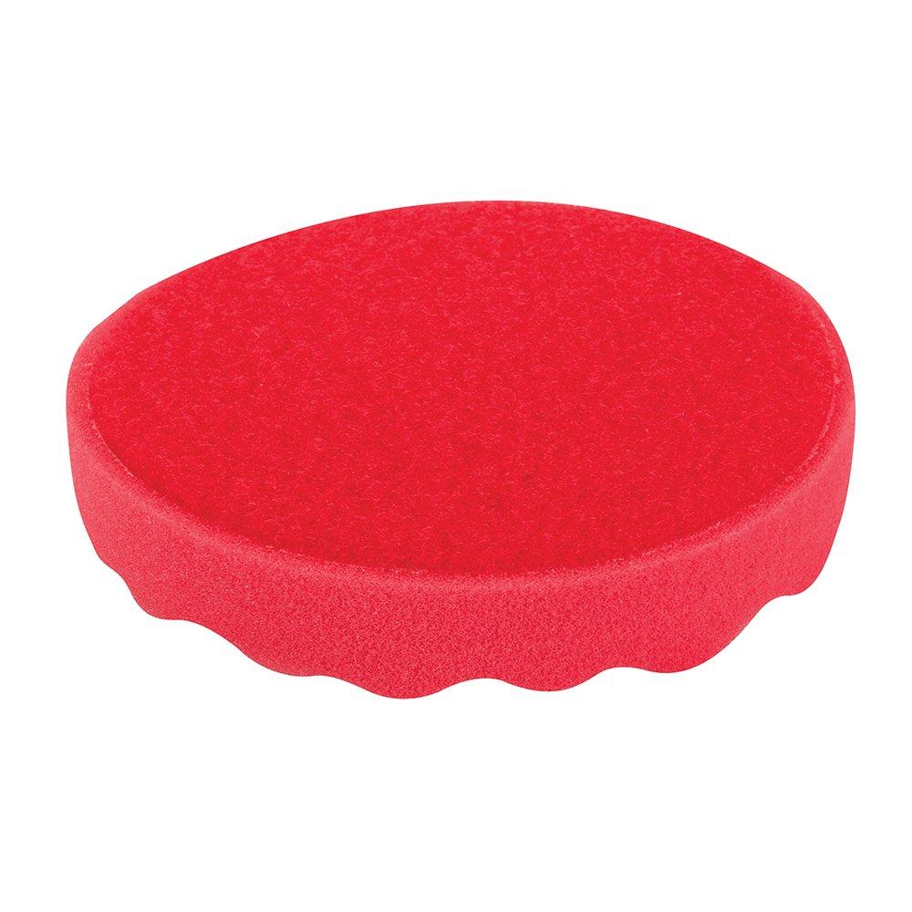 Esponja de pulido autoadherente Silverline 773097 150 mm, ultra blanda, rojo