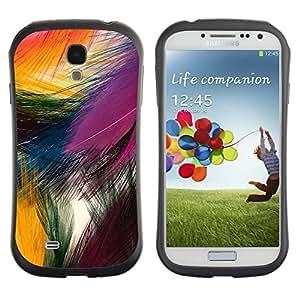 "Hypernova Slim Fit Dual Barniz Protector Caso Case Funda Para SAMSUNG Galaxy S4 IV / i9500 / i9515 / i9505G / SGH-i337 [Festiva Pascua colorido pájaro de la naturaleza""]"