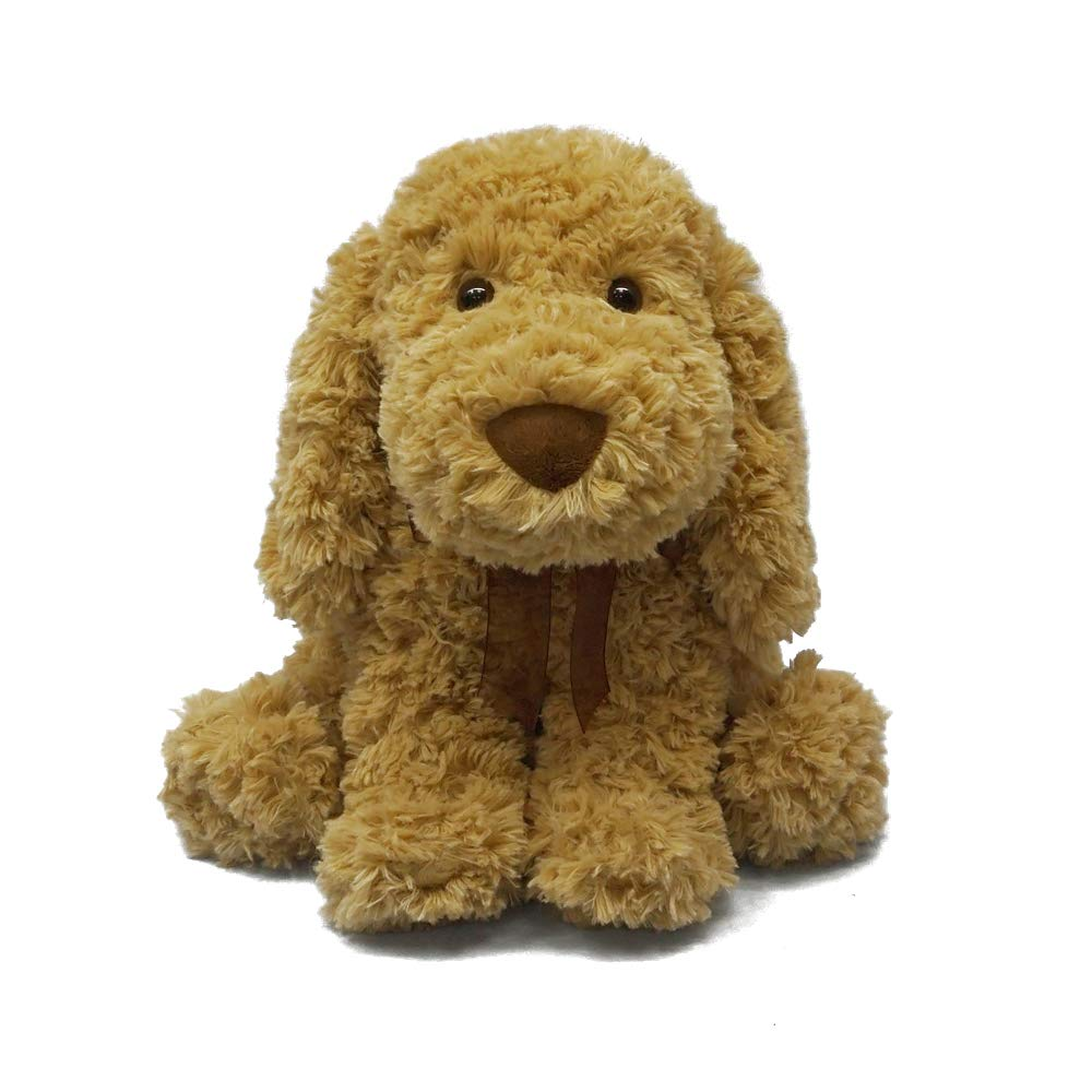 DORE Stuffed Dog Plush Animals Puppy Dog Toys,Brown