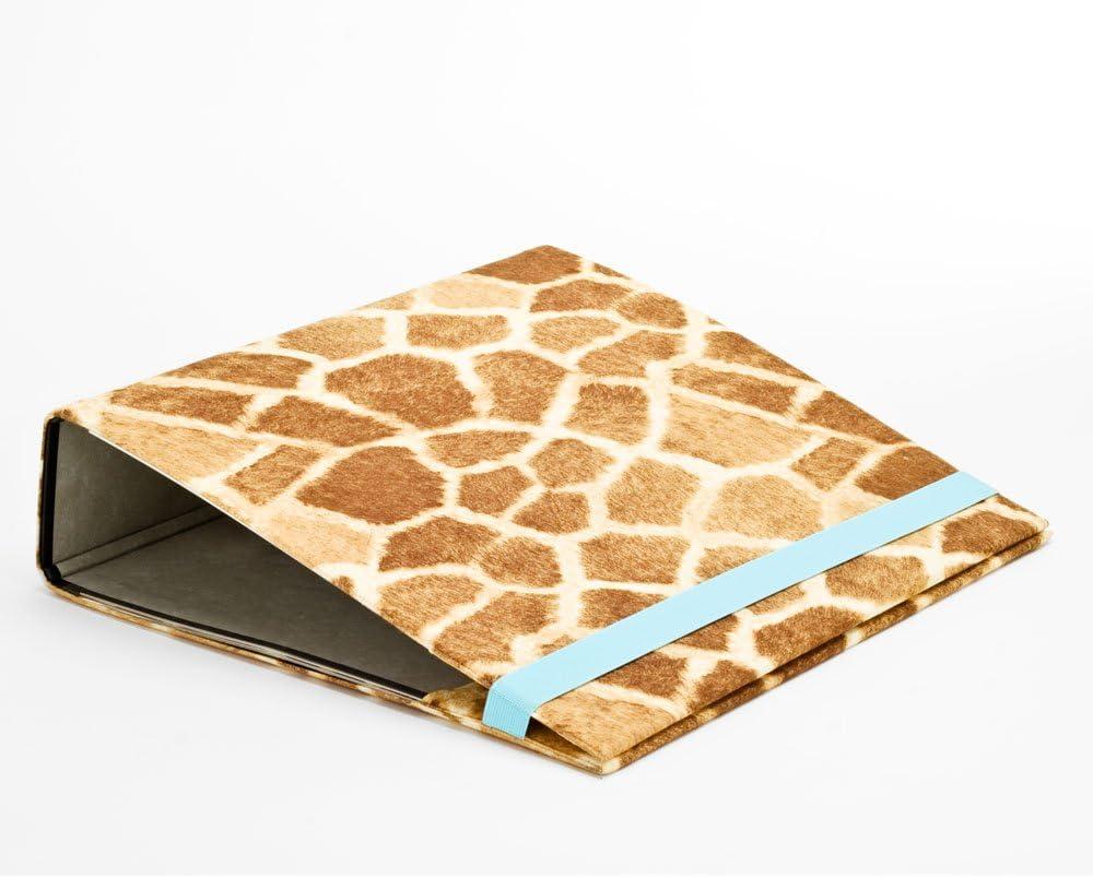 Archivadores de palanca cubrir FILEFUR Animal jirafa