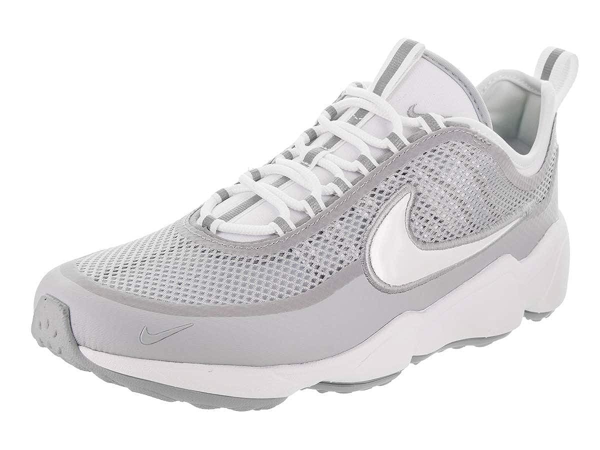 Blanc blanc Wolf gris Nike Zoom Spiridon Ultra, baskets Basses Homme 9.5 D(M) US