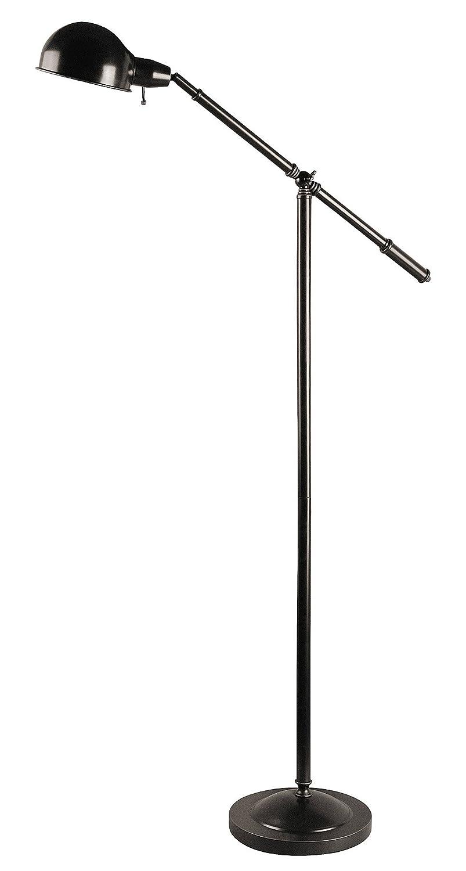 Lite Source LS-81276 Jensen Adjustable Metal Floor Lamp, Dark Bronze ...