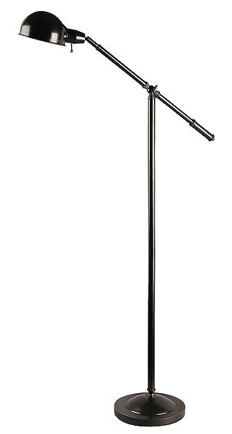 Lite Source LS 81276 Jensen Adjustable Metal Floor Lamp, Dark Bronze