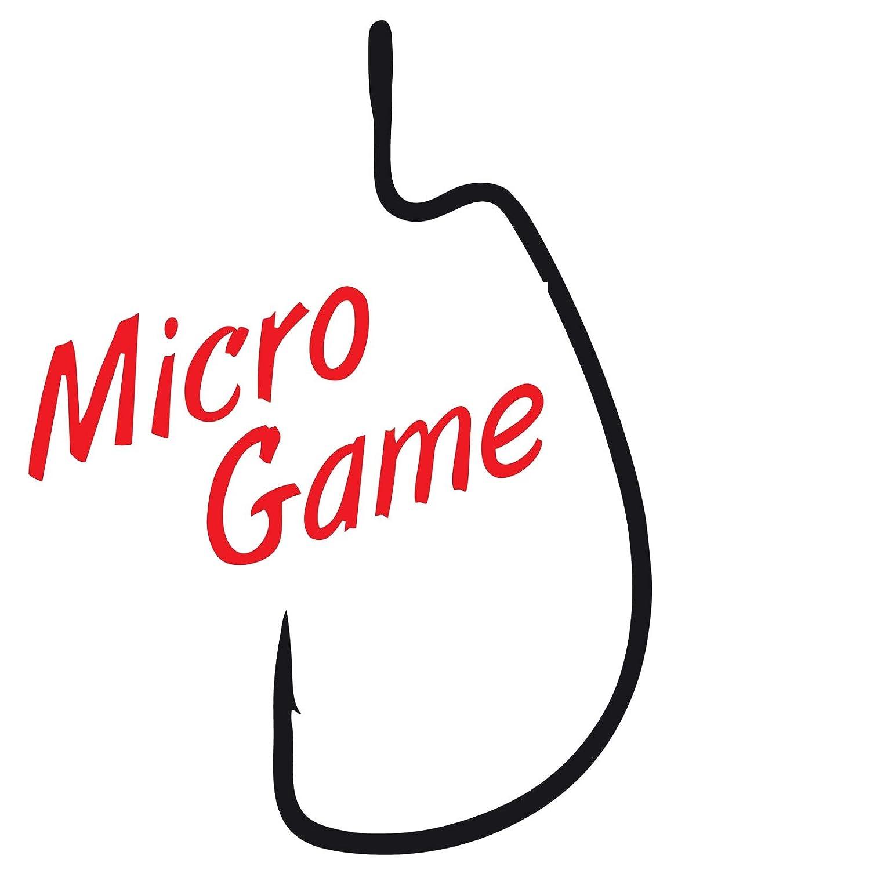 8 Offset Angelhaken f/ür Softbaits Offsethaken f/ür Gummik/öder Gamakatsu Worm 325 Micro Game Haken f/ür kleine Jigs /& Gummifische