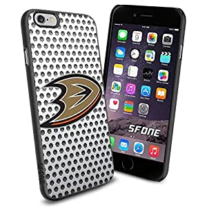Anaheim Ducks White Net #2173 Hockey iPhone 6 (4.7) Case Protection Scratch Proof Soft Case Cover Protector by runtopwell