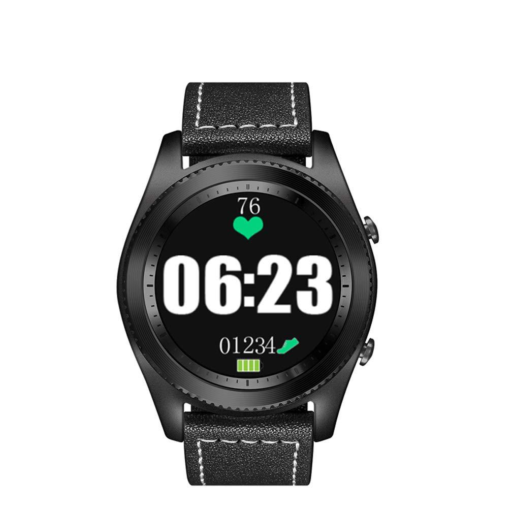 Amazon.com: Bluetooth Smart Watch, Heart Rate Monitor NFC ...