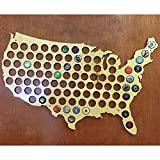 Beer Cap Trap United States Beer Cap Map Wall Art offers