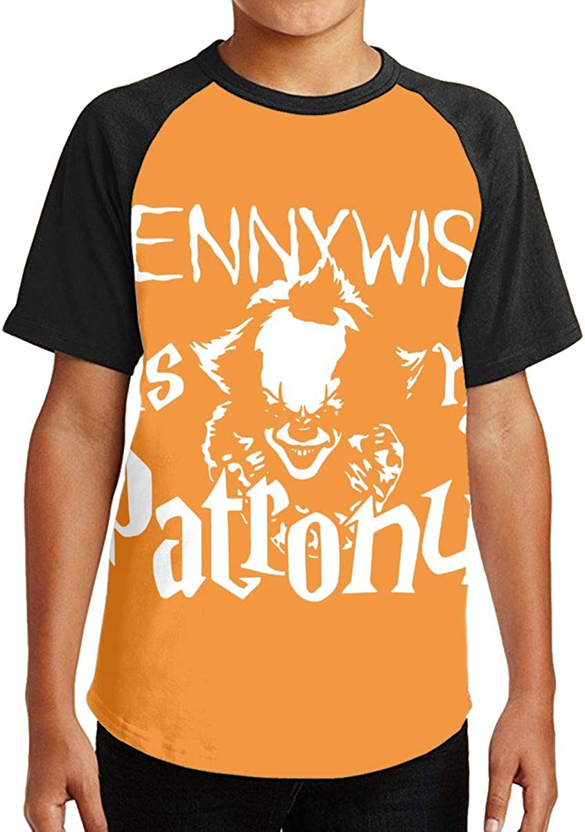 PTCY Design Cute Girl Boy Summer Short Sleeve T-Shirt Pennywise with Balloon Slim Beautiful