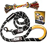 Dog leash with reflective rope 3 Pack