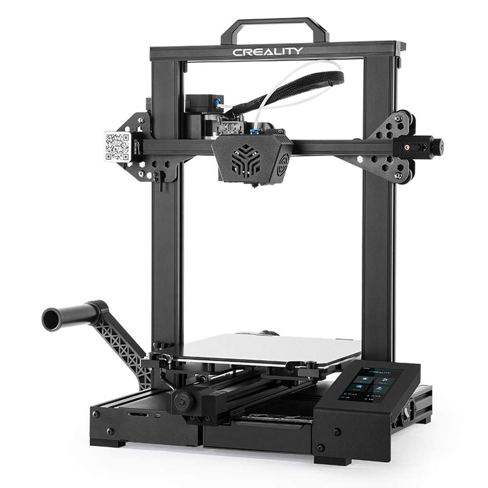 Official Creality CR-6 SE Leveling-free 3D Printer(Non-Kickstarter Version)with 32 Bit Silent Motherboard, Auto Bed leveling, Upgraded Extruder Build Volumn 235x235x250MM