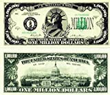 Set of 100-Million Dollar Bills-Very Realistic Looking-Same Size As Real Money-Educational Product