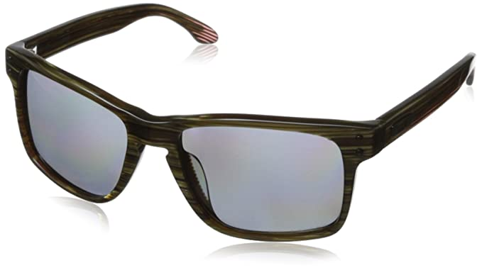 Oakley Holbrook OO 2048 Rechteckig Sonnenbrille, Banded Green/Grey Polarized (S3)