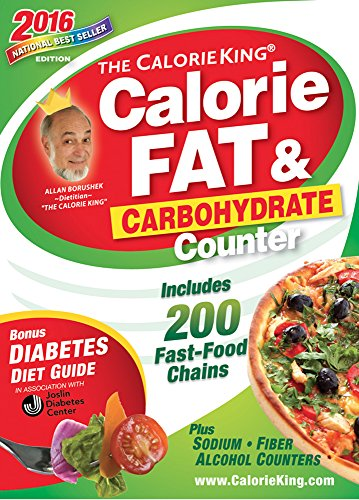 Fat Pockets (The CalorieKing Calorie, Fat & Carbohydrate Counter 2016: Pocket-Size Edition)
