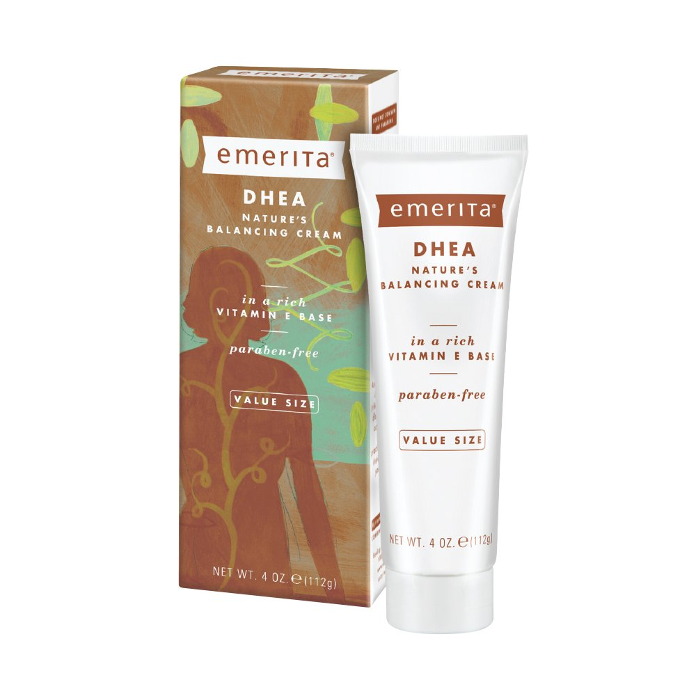 Emerita DHEA Balancing Cream | from The Makers of Pro-Gest | DHEA Support for Optimal Balance | 4 oz