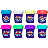 Massinha Play-doh Plus 8 Potes Play-doh Multicor