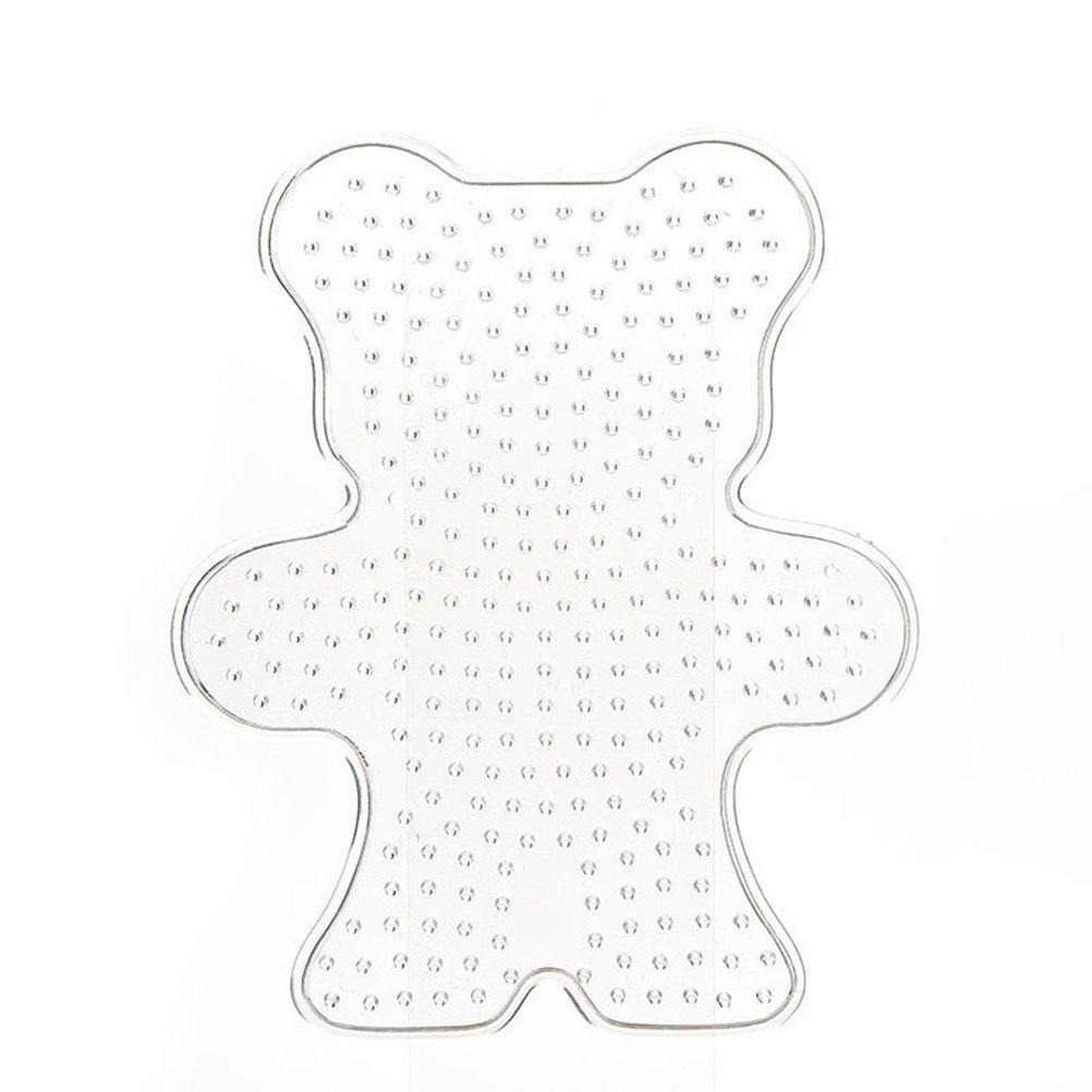 1 Pcs Pegboard Bear Shape Model Template for Perler