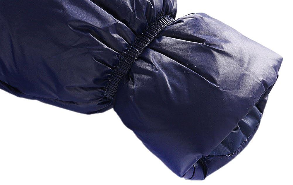 Genda 2Archer Unisex Baby Hooded Puffer Jacket Jumpsuit Winter Snowsuit Coat Romper