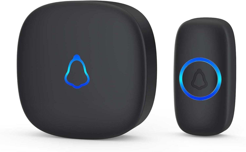 SECRUI 1,000ft Waterproof Wireless Doorbell $16.99 Coupon