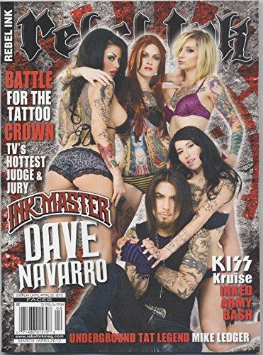 Rebel Ink (Tattoo) Magazine March/April 2012