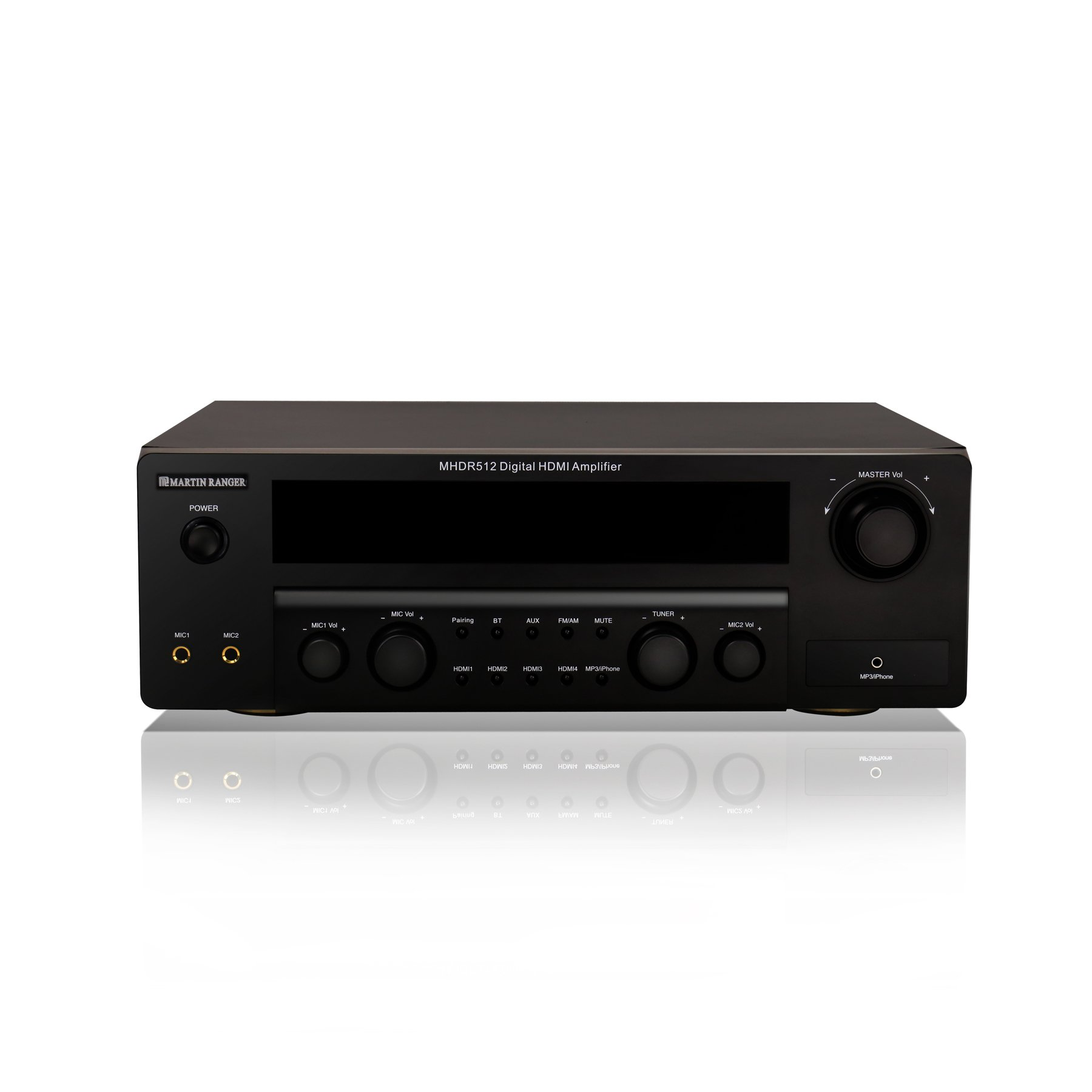 HDMI (2160P/4K) ARC 5.1 Channel Built-in Bluetooth V4.0 Digital Amplifier with VFD Display