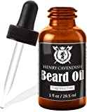 Henry Cavendish Beard Oil and Leave In Conditioner. With Organic Jojo, Sunflower, Shea and Argon Oils. Fragrance Free.