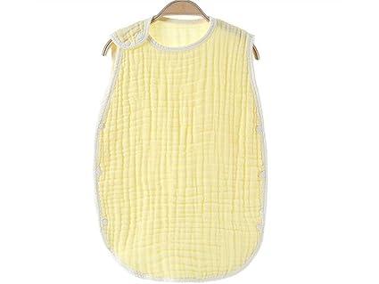 OHlive Brillante Bebé recién Nacido Verano sin Mangas Antideslizante Saco de Dormir Saco de Dormir Nido