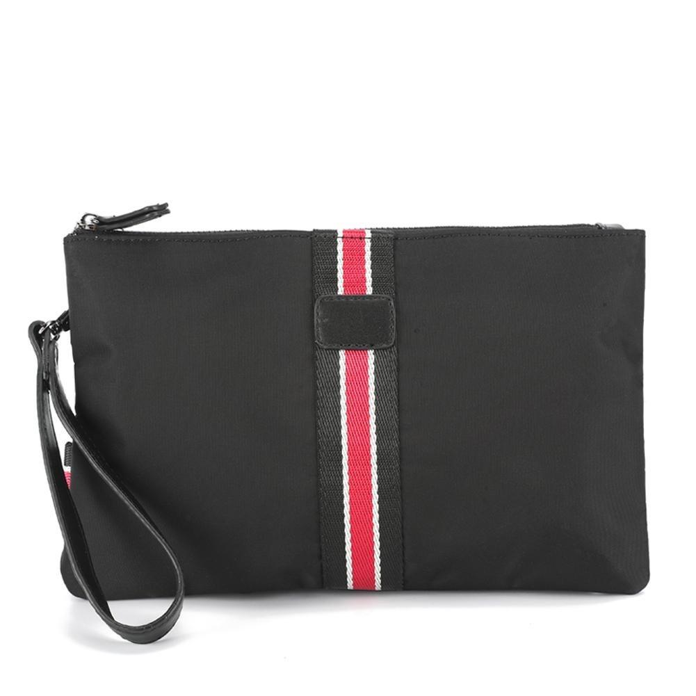Cartera de nylon del bolso del embrague del bolso de embrague de nylon para hombre del teléfono celular: Amazon.es: Deportes y aire libre
