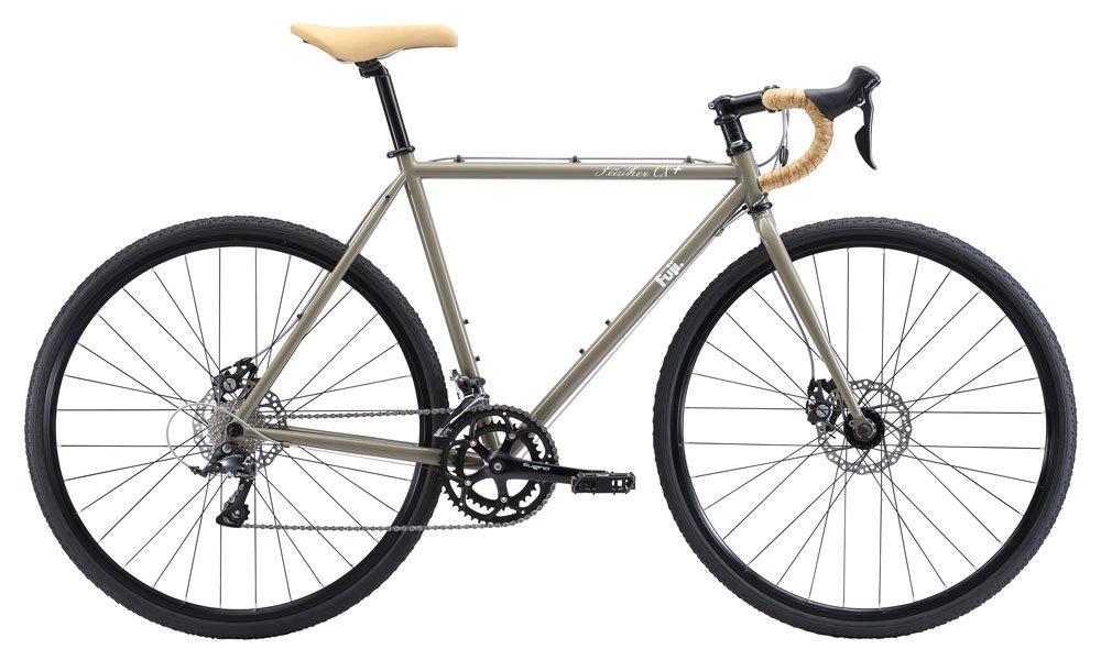 FUJI(フジ) FEATHER CX+ 52cm 2x9speed MUD ロードバイク 2018年モデル 18FEACBR MUD 52cm B075SZ1GVL