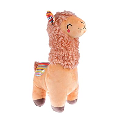 NUOBESTY Alpaca Plush Toy Llama Stuffed Animal Doll Plushie Hug Pillow Soft Fluffy Cushion Super Kawaii Christmas Gift: Health & Personal Care
