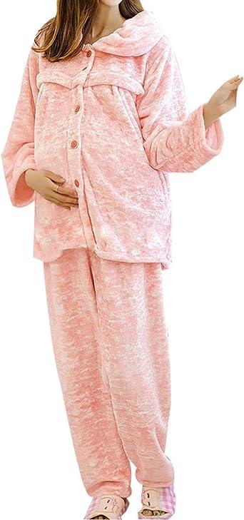 QPALZM Japón Y Corea Del Sur En Otoño E Invierno Pijamas De ...