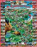 White Mountain Puzzles Mount Washington Valley - 1000 Piece Jigsaw Puzzlee