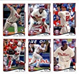 2014 Topps Series 1 Baseball Cards Philadelphia Phillies Team Set (10 Cards) SEALED IN PROTECTIVE STORAGE BOX
