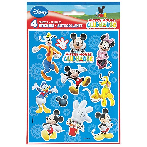 Mickey Mouse Clubhouse Sticker Sheets, (Disney Halloween Treat Part 4)