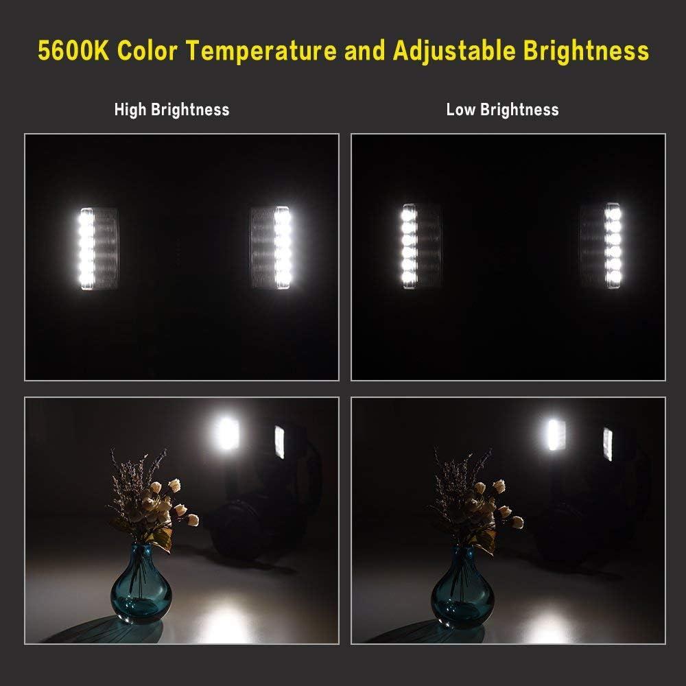 KLJKUJ YONGNUO YN24EX E-TTL Macro Flash Speedlite 5600K Flash Heads Adapter Rings for Canon EOS 1Dx 5D3 6D 7D 70D 80D Cameras
