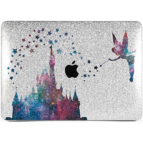 Lex Altern New Glitter MacBook Case Pro 15 inch Mac 15 12 Air 11 2018 Retina Cute Crystal Castle Cover Hard Sparkly Apple Gold Glossy 2017 2016 Disney Tinkerbell Laptop Girly Print Galaxy Stars 2015]()