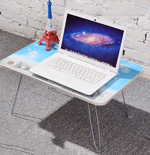 F&W Laptop Table Lazy Bed With Computer Desk Simple Folding Desk Children's Study Table Student Dormitory by  F&W