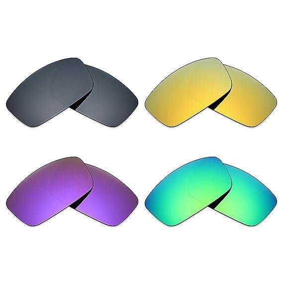Mryok 4 pares de lentes polarizadas de repuesto para gafas ...