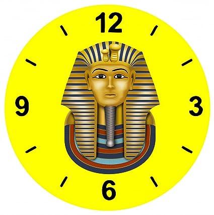 """Cristal Reloj """"tutanch Amun de oro máscara de máscara de archäologie de egipcio"""