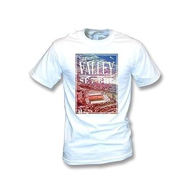 PunkFootball Exeter halten das Glauben-T-Shirt klein, Farbe- Rot