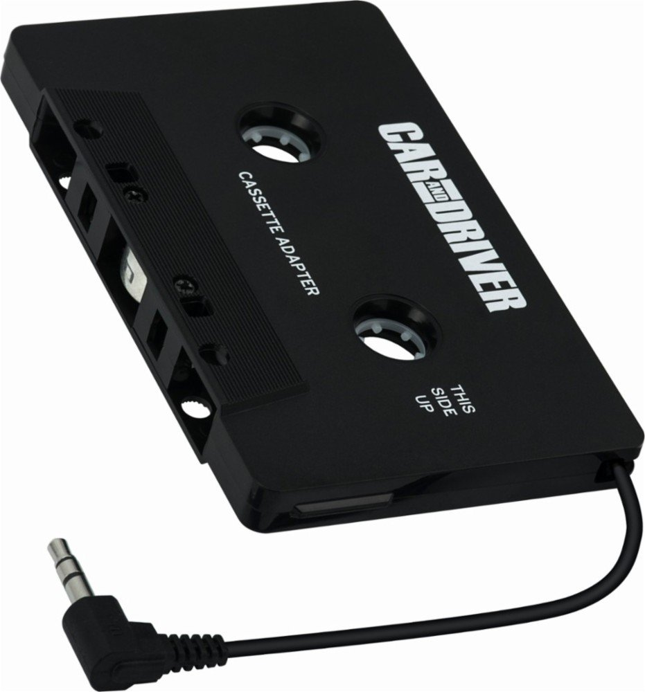 Car and Driver Cassette Adapter