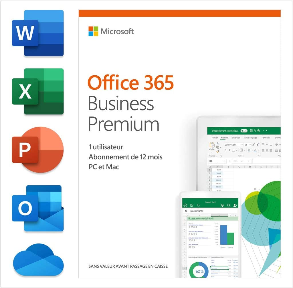 Microsoft Office 365 Business Premium Box Pack Computers Accessories