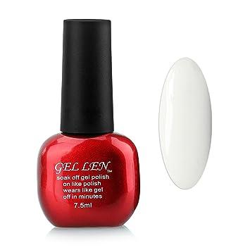 Amazon.com : Gellen Nail Polish LED UV Gel Nails 1Pc Capacity 10ml ...