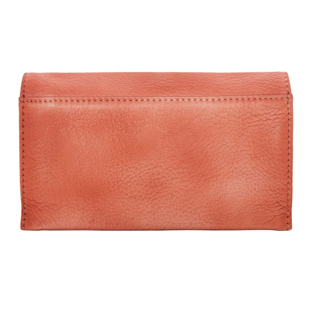 Latico Leathers Cameron Wallet Genuine Authentic Luxury Leather, Designer Made, Business Fashion and Casual Wear, Washed Red by Latico (Image #2)