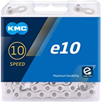 KMC Unisex's E10 Chain, Silver, 122 Link