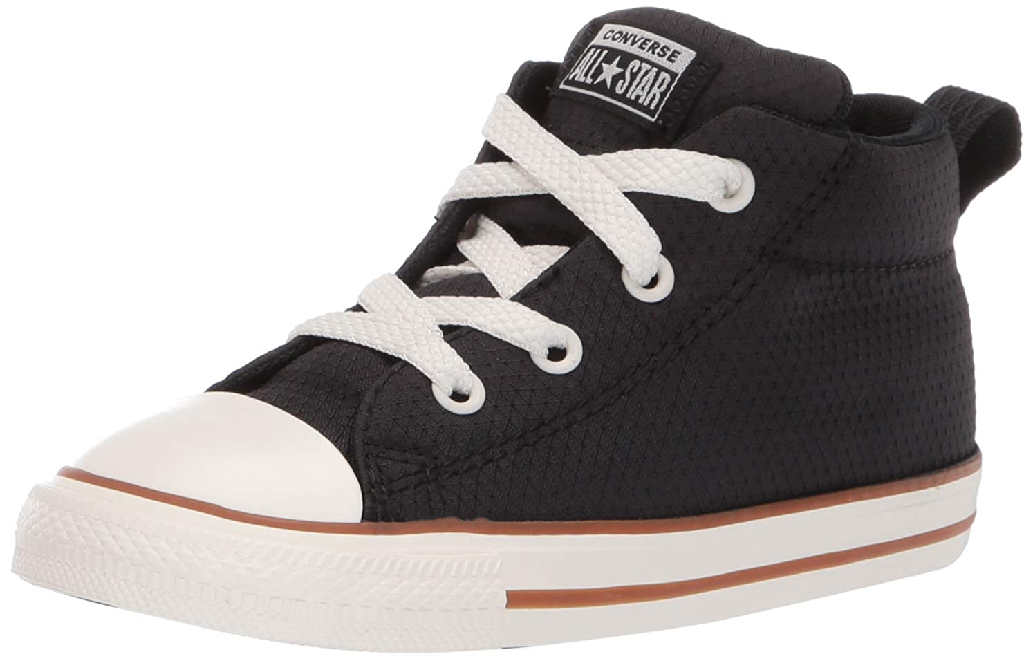 Converse Kids Infants' Chuck Taylor All Star Street Pinstripe Mid Top Sneaker